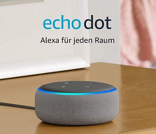 Amazon Echo Dot Test und Vergleich