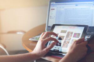 Tablet, PC, unabhängiges Arbeiten